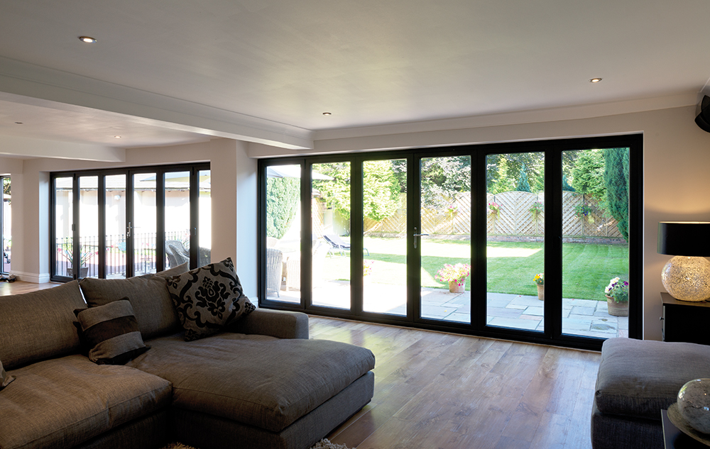 Aluminium Bi Folding Doors in Hertford