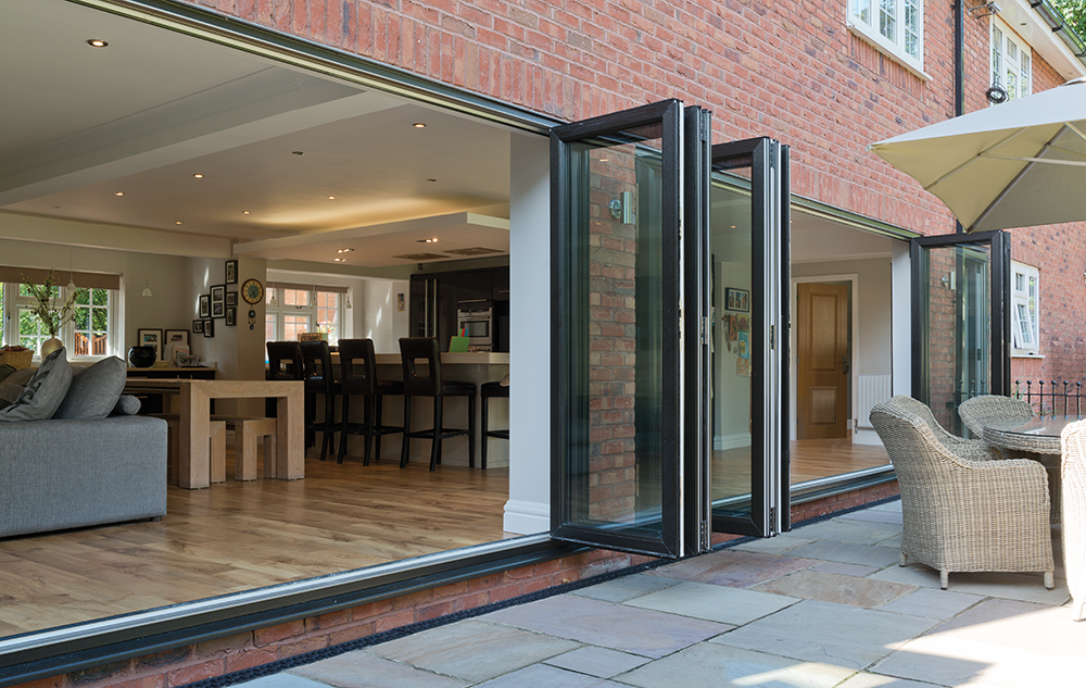 uPVC Bi Folding Doors in Hertford