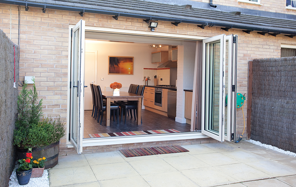 uPVC Bi Folding Patio Doors